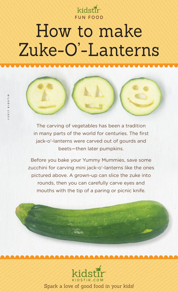 Zuke-o-Lanterns  Zucchini for Kids