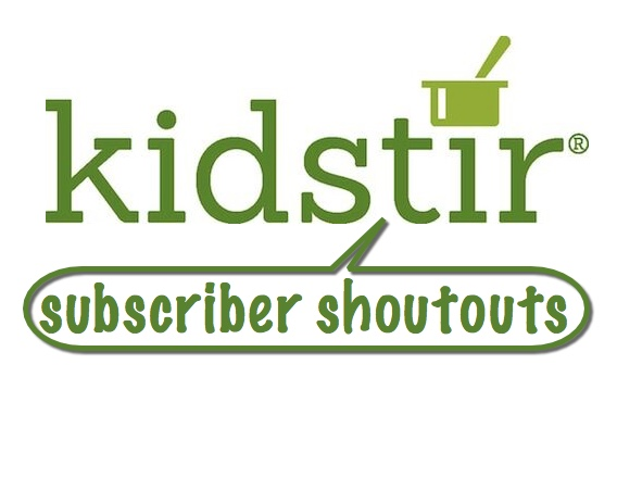 Kidstir Subscriber Shoutouts