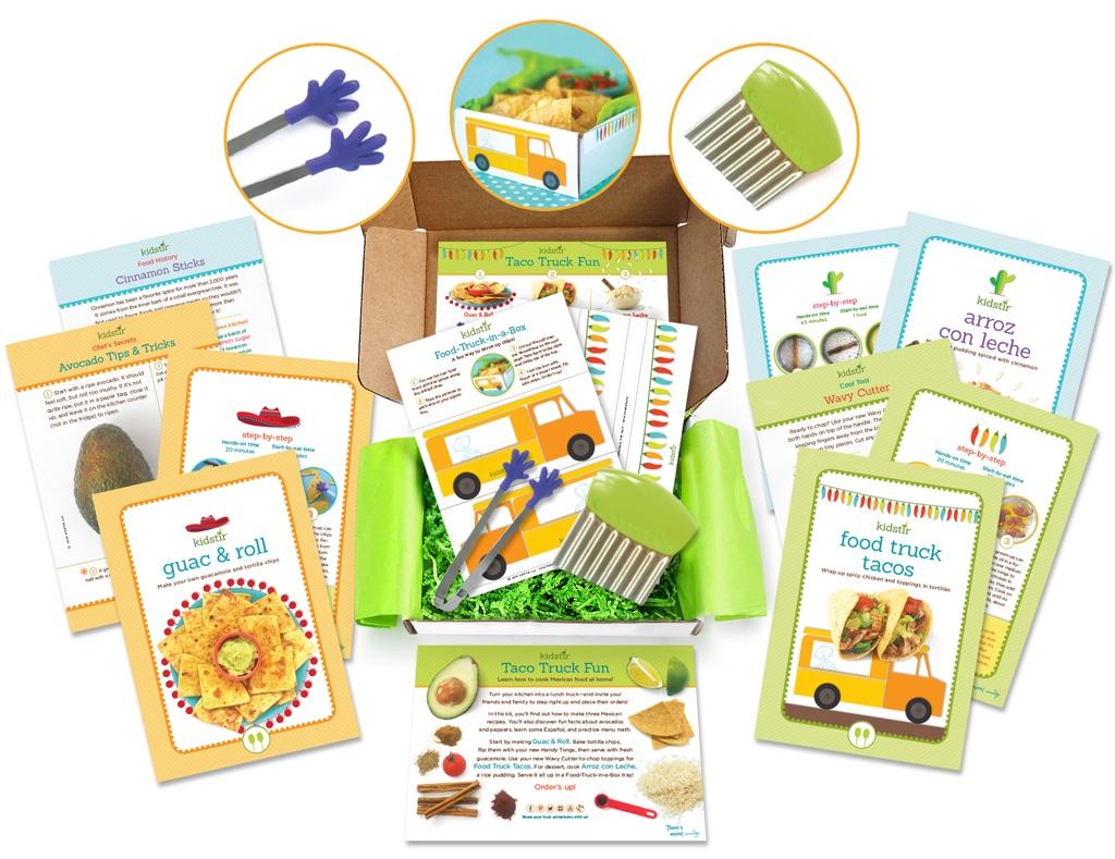 Kidstir Taco Truck Cooking Kit Box