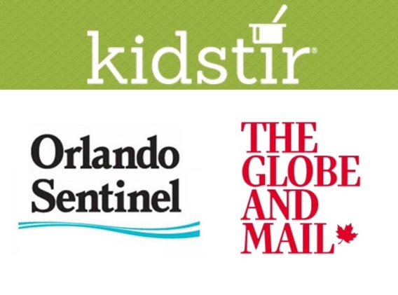 Kidstir, Orlando Sentinel, Globe and Mail