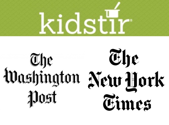 Washington Post & New York Times articles - Kidstir